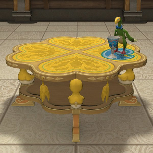 Table ronde chocobo