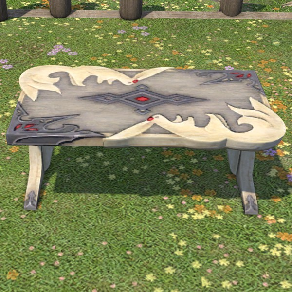 Table de jardin Carbuncle