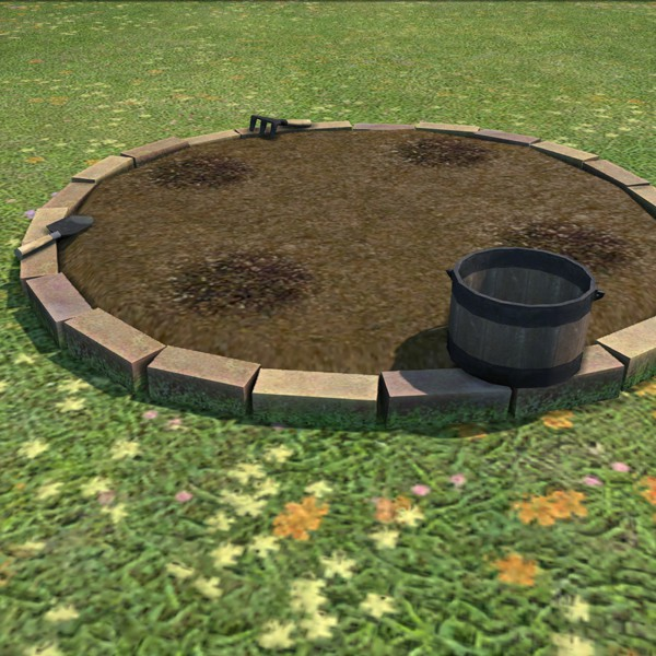 Potager rond
