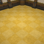 Carré de carpette